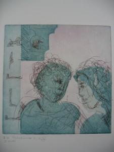 colour etching love-dialogue 2
